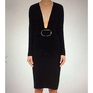 Stella McCartney Stretch Cady Fitted Dress
